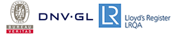 DNV-GL and Lloyd's certification