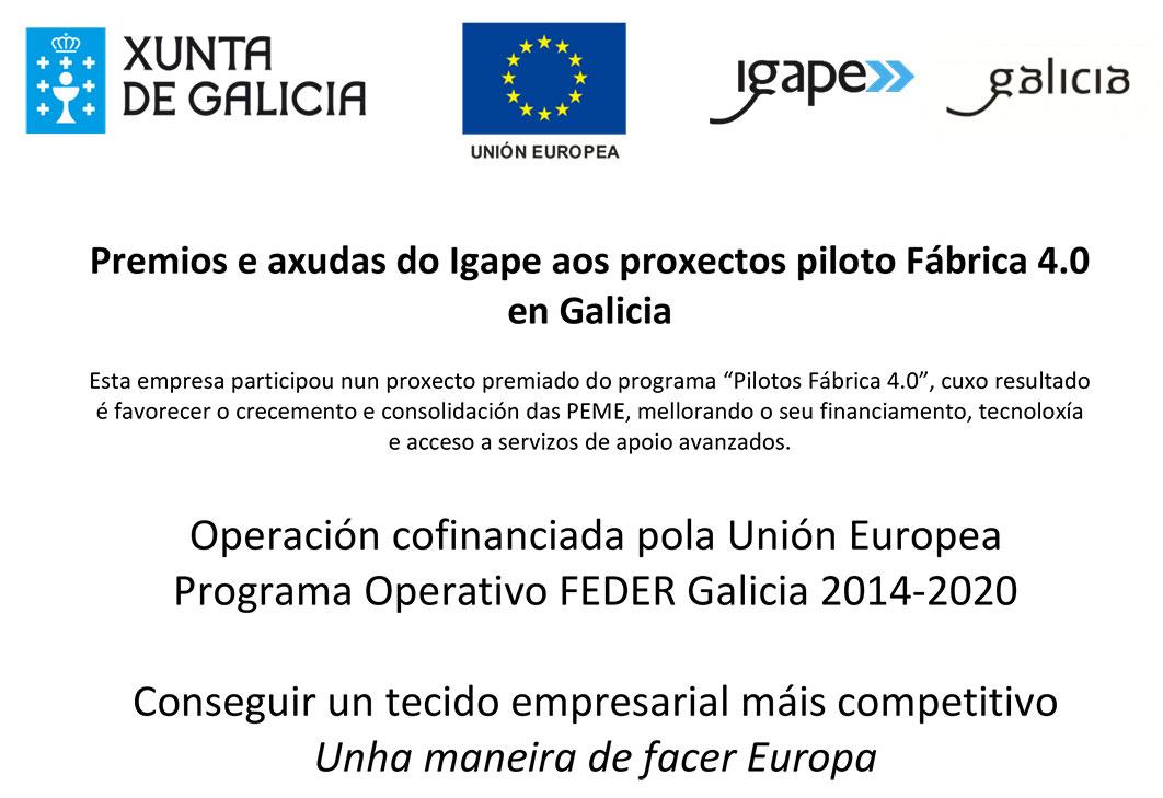 Proyectos Piloto Fábrica 4.0 En Galicia