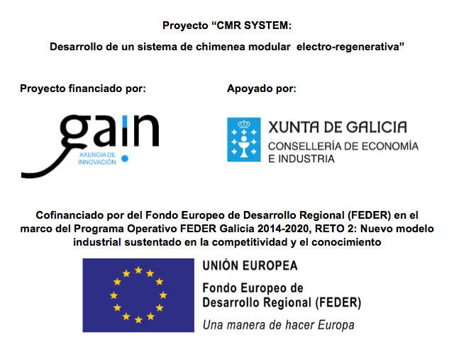 """Proyecto """"CMR SYSTEM: Desarrollo De Un Sistema De Chimenea Modular Electro-regenerativa"""""""