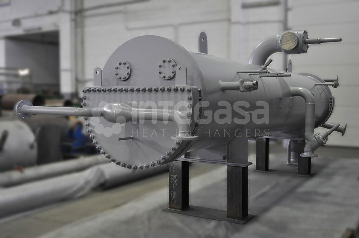 CASCADE CONDENSERS CO2/NH3 (SPRAY CHILLERS)