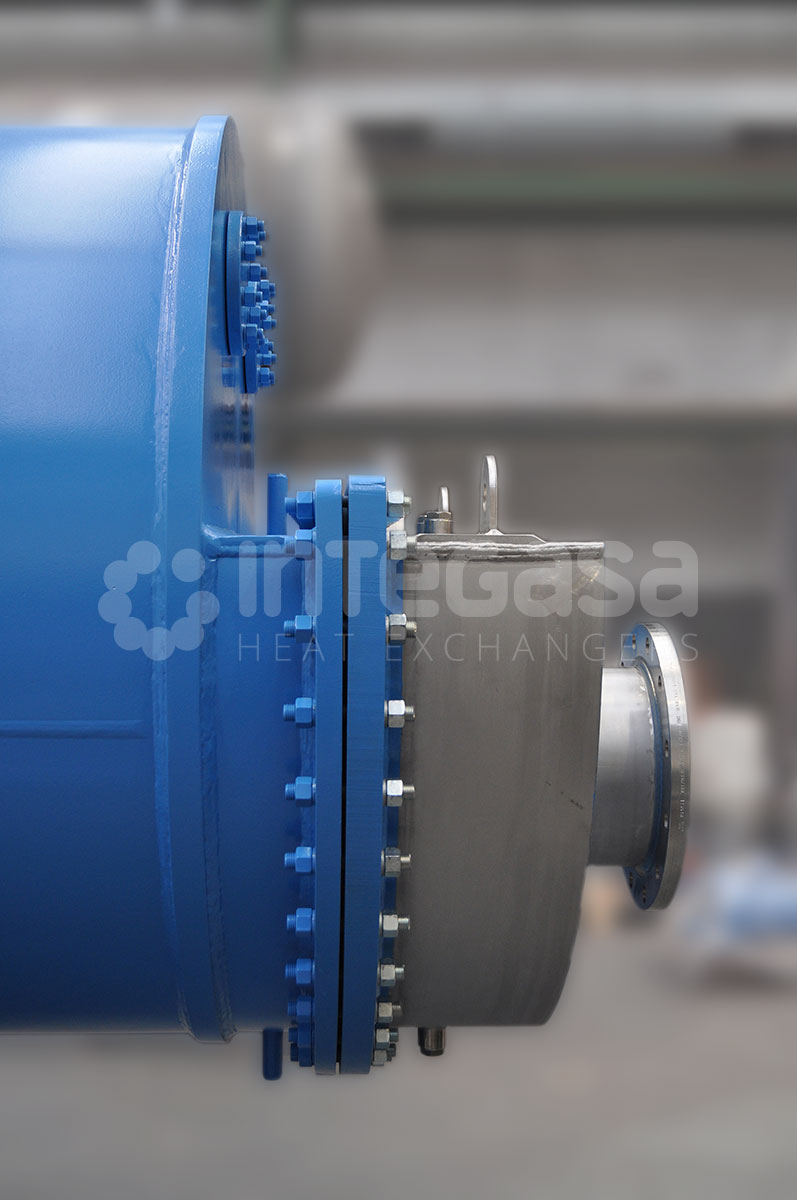 Double tube heat exchanger design