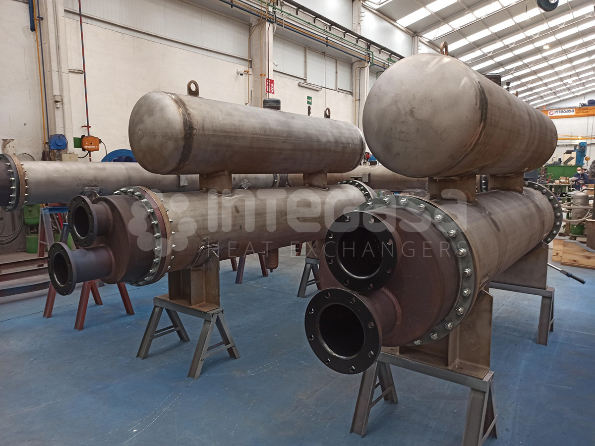 Titanium Heat Exchangers
